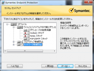 Endpoint インストールオプション